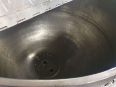 Bibby 200 Litre Stainless Steel Jacketed Hemispherical Pan - 4
