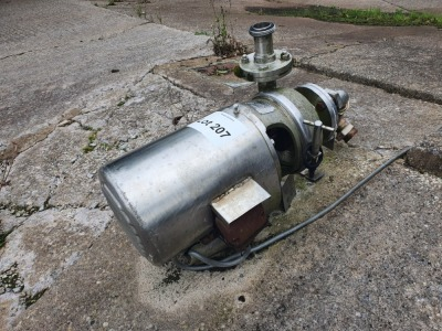 APV 2-2-9 Puma Pump Serial Number X395