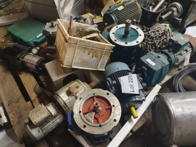 Large Quantity of Assorted Motors