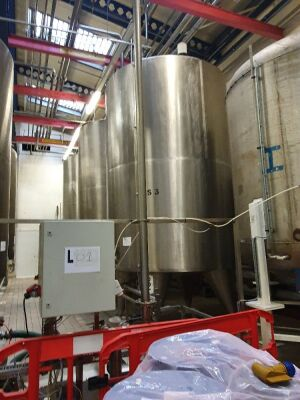 20,000 Litre Stainless Steel Insulated Tank T1