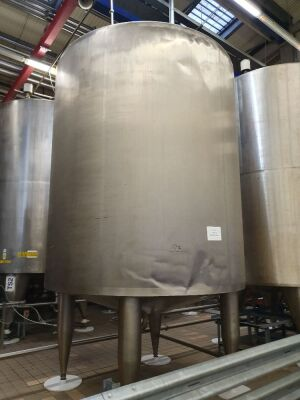 15,000 Litre Stainless Steel Holding Tank T3