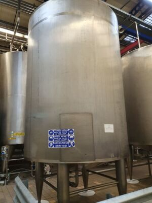 13,500 Litre Stainless Steel Insulated Tank T4
