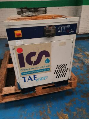2006 TAE Evo 020 Package Chiller S/N 220085628 Power 3kw